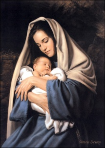 Baby-Jesus-Picture-Sleeping-In-The-Arms-Of-Mary